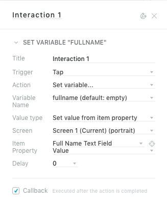 Variables – Help center